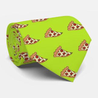 ピザ切れのデザインのタイ オリジナルタイ