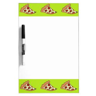 ピザ切れの白板 ホワイトボード