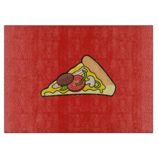 ピザ切れ カッティングボード