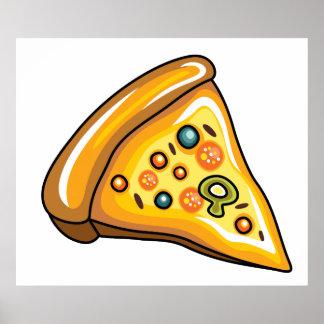 ピザ切れ ポスター