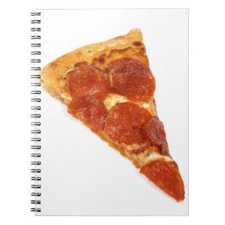 ピザ切れ-切れのピザ ノートブック