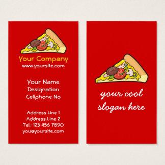 ピザ切れ 名刺