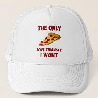 ピザ切れ-私によってがほしい唯一の三角関係 キャップ