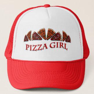 ピザ女の子 キャップ