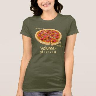 ピザ容積の数式= Pi*z*z*a Tシャツ