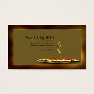 ピザ店の名刺 名刺