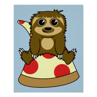 ピザ怠惰 ポスター