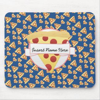 ピザ恋人のカスタマイズ可能なモノグラム マウスパッド