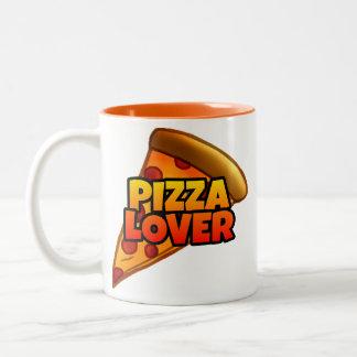 ピザ恋人のツートーンマグ(11のoz。) ツートーンマグカップ