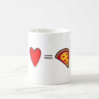 ピザ愛マグ コーヒーマグカップ