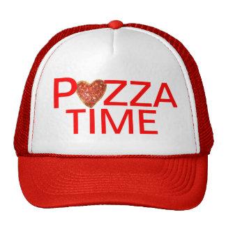 ピザ時間トラック運転手の帽子 トラッカーキャップ