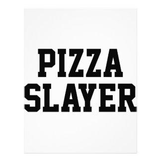 ピザ殺害者 レターヘッド