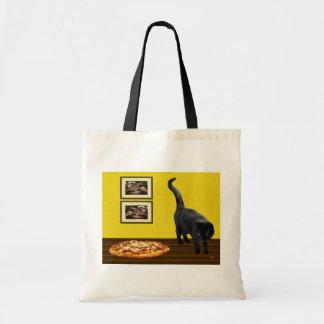 ピザ猫 トートバッグ