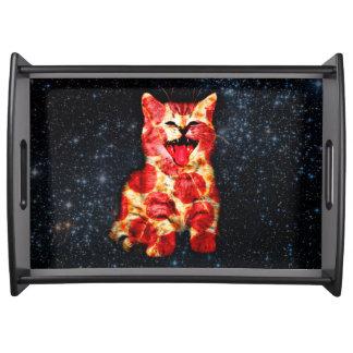 ピザ猫-子猫-猫 トレー