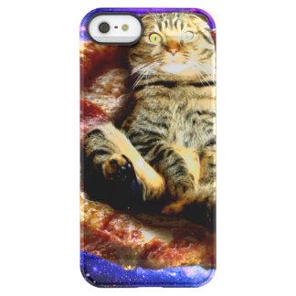 ピザ猫-熱狂するな猫-宇宙の猫 PERMAFROST iPhone SE/5/5sケース