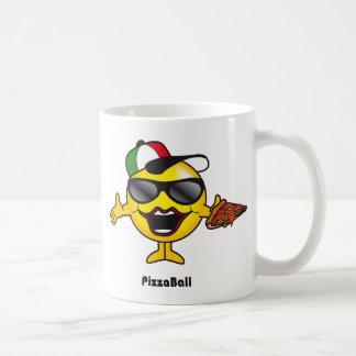 ピザ球のマグ コーヒーマグカップ