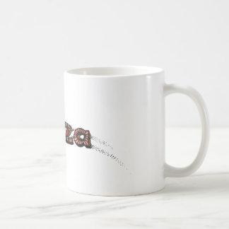 ピザ落書き コーヒーマグカップ