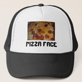 ピザ顔 キャップ
