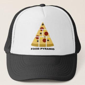 ピザ食糧ピラミッドのおもしろいな球の帽子のトラック運転手の帽子 キャップ