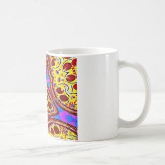 ピザ コーヒーマグカップ
