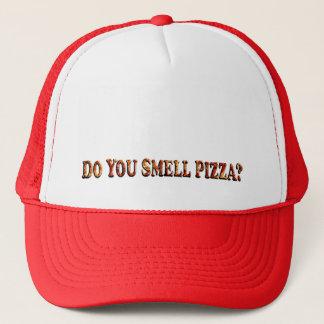 ピザ-トラック運転手の帽子--をかぎます キャップ