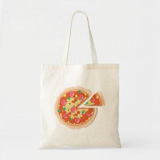 ピザ トートバッグ