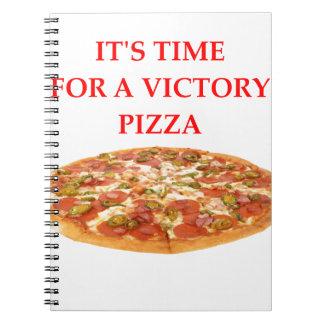 ピザ ノートブック