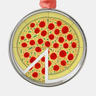 ピザ メタルオーナメント
