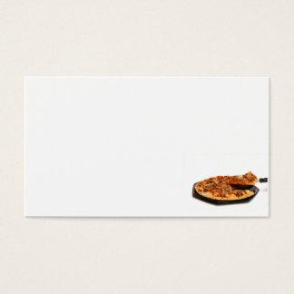 ピザ 名刺