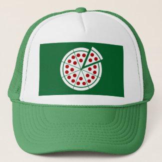 ピザ-軽いステンシル キャップ