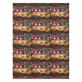 """ピザbaglesの料理のボストンおもしろい52"""" x70""""テーブルクロス テーブルクロス"""