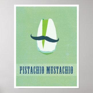 ピスタシオのMustachio ポスター