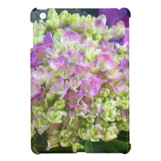 ピスタシオ色のアジサイ iPad MINIケース