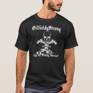 ピストルと強い油田 Tシャツ