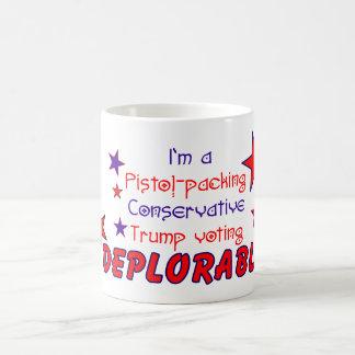 ピストルPackinの嘆かわしい保守的な切札の投票 コーヒーマグカップ