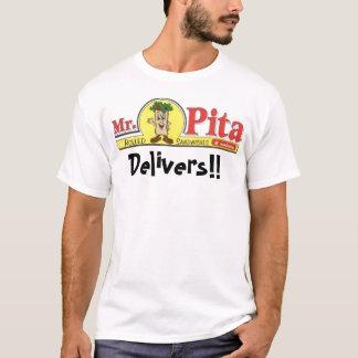 ピタのロゴは、渡します!! Tシャツ