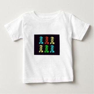 ピタゴラスのコラージュ ベビーTシャツ