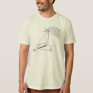ピタゴラス学派のヤシの木 Tシャツ