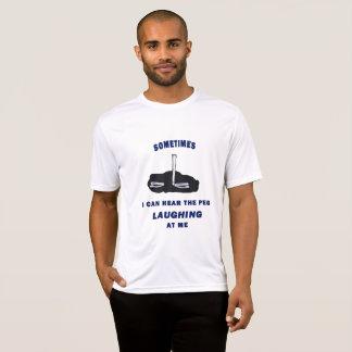 ピッチングのスポーツのTekの蹄鉄のティー Tシャツ