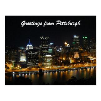 ピッツバーグからの挨拶 ポストカード