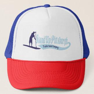 ピッツバーグのかい板Coトラック運転手の帽子を立てて下さい キャップ