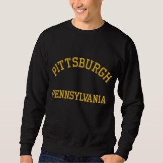 ピッツバーグのスエットシャツ 刺繍入りスウェットシャツ