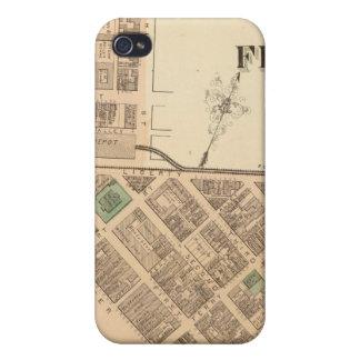 ピッツバーグの区1、Pennsyvania iPhone 4/4S ケース