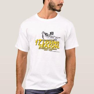 ピッツバーグの野球17負けた季節 Tシャツ