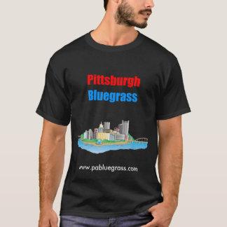 ピッツバーグのBluegrassの暗闇 Tシャツ