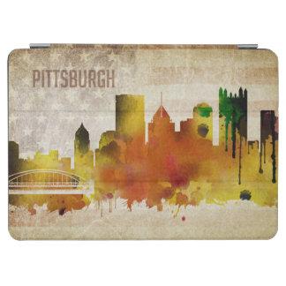 ピッツバーグのPA  の水彩画都市スカイライン iPad AIR カバー