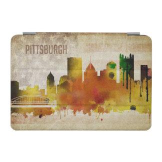 ピッツバーグのPA |の水彩画都市スカイライン iPad MINIカバー