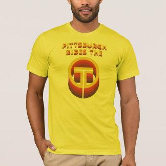ピッツバーグはTに乗ります! Tシャツ