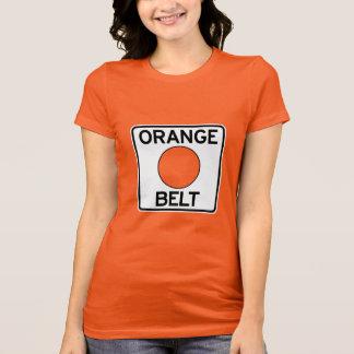 ピッツバーグオレンジベルトのTシャツ(女性の切口) Tシャツ