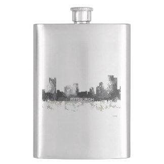 ピッツバーグペンシルバニアのスカイライン-飲み物のフラスコ フラスク